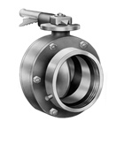 Lever Operated Butterfly Valve