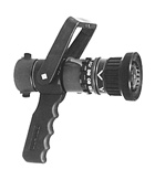 Adjustable Gallonage Nozzle With Pistol Grip and Ball Shutoff